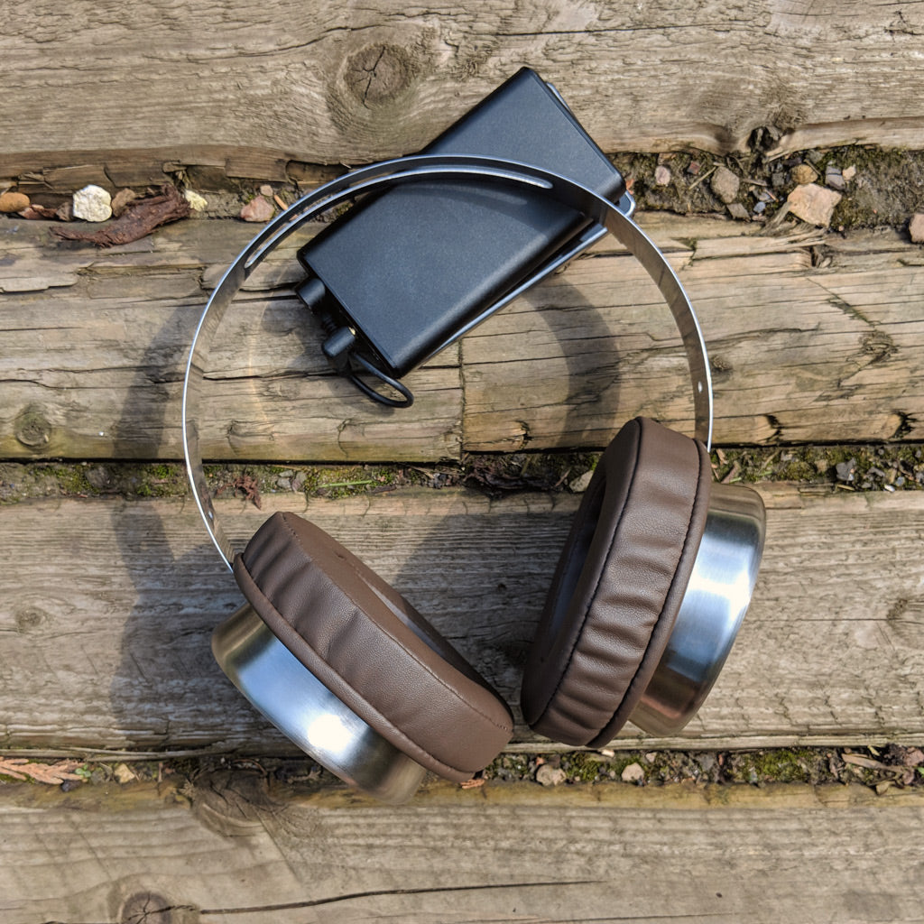 Brainwavz XL Brown PU Leather Round Earpads