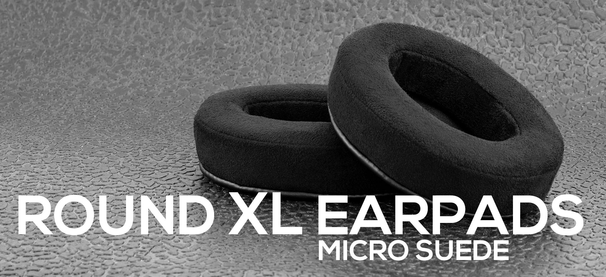 round xl micro suede earpads