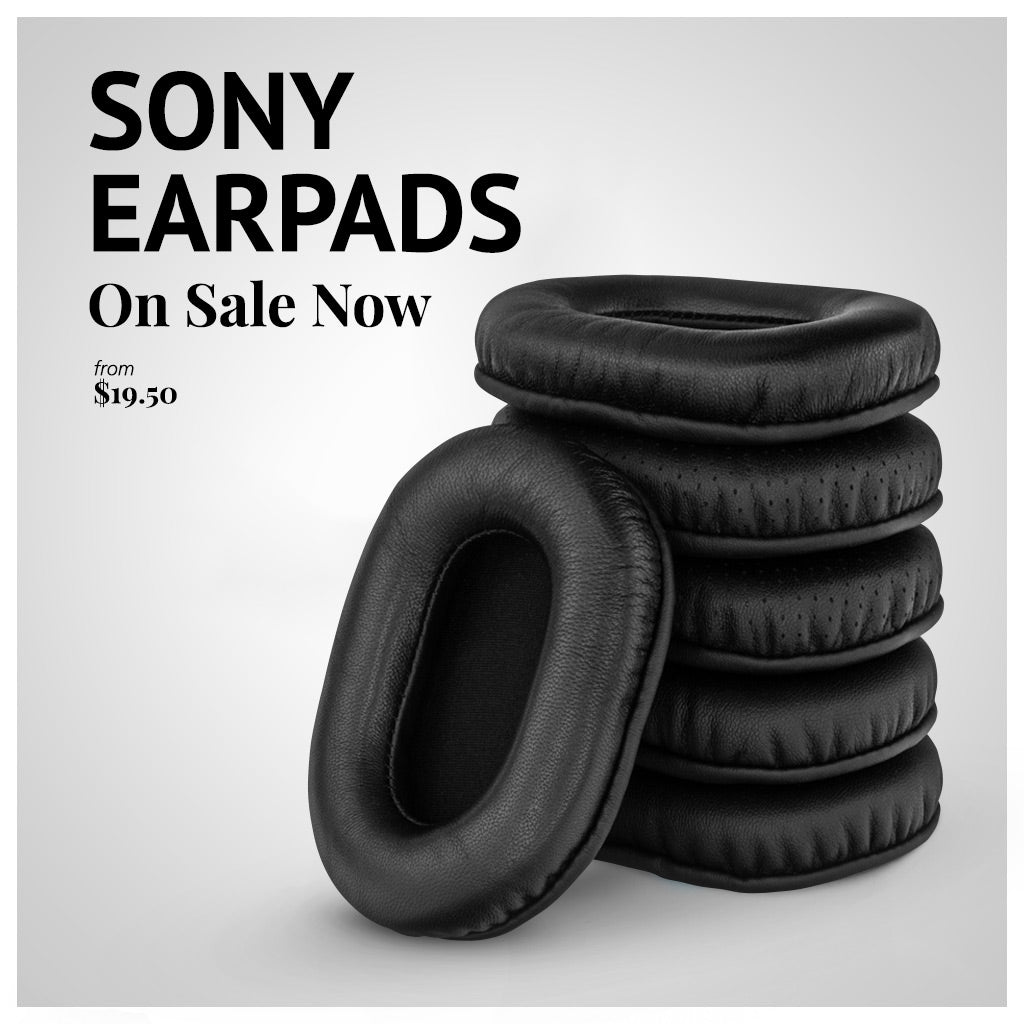 Sony earpads from Brainwavz Audio
