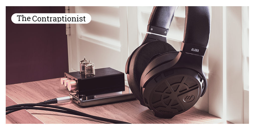 The contraptionoist and B9Scrambler review the brainwavz Alara Planar magnetic Headphones