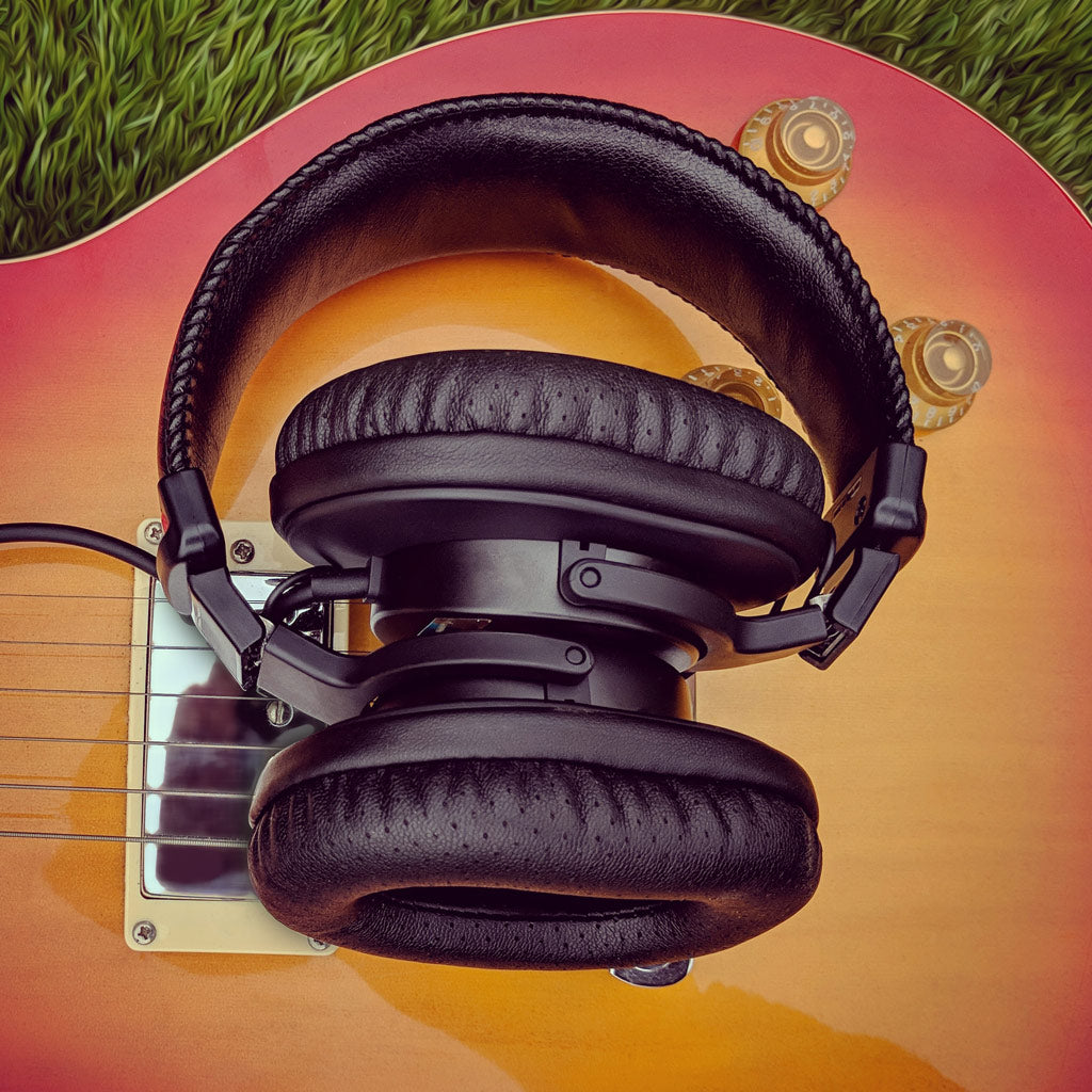 Brainwavz Sony earpads on a Sony MDR7506 headset