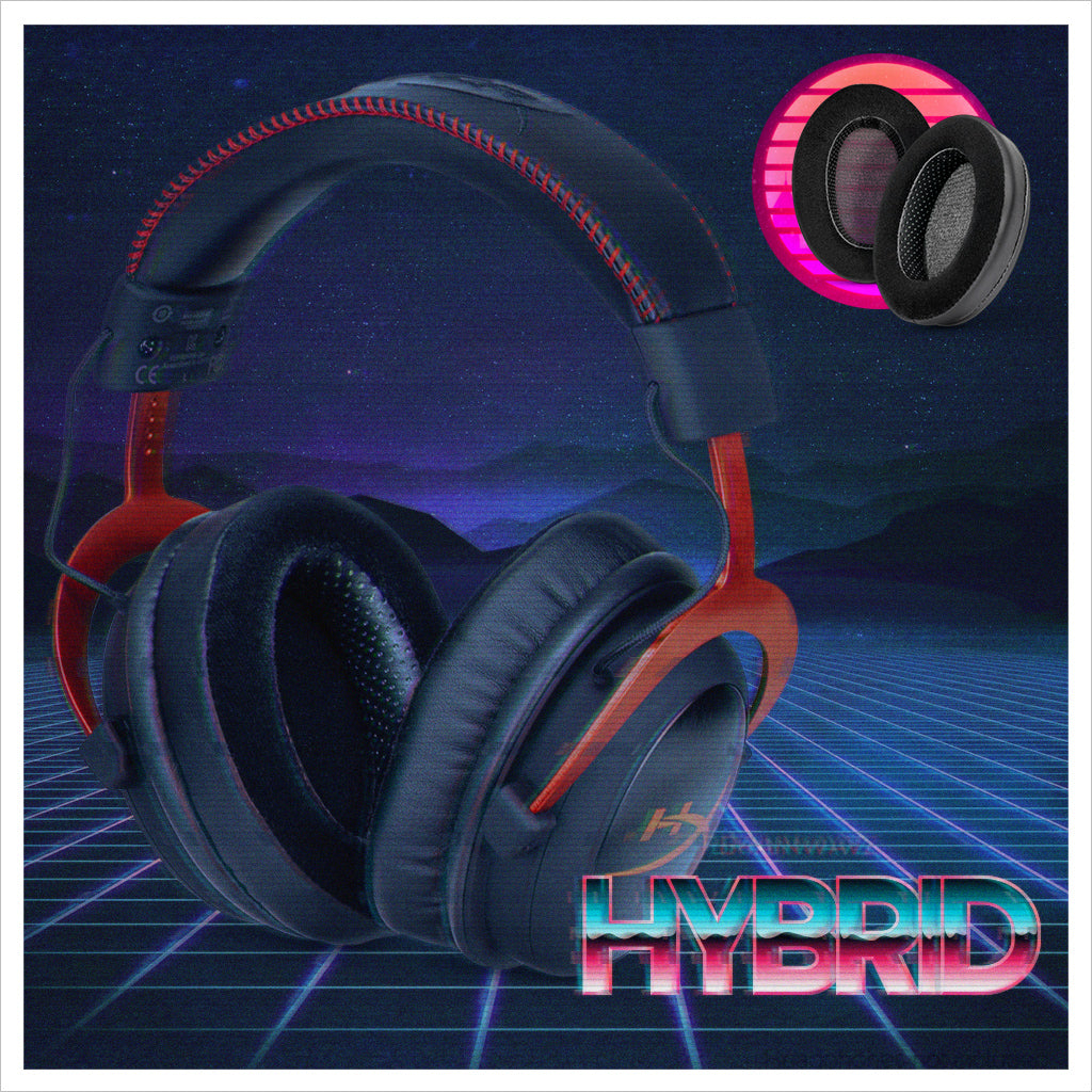 Brainwavz Hybrid earpads, velour and Faux leather combined for the best of both worlds