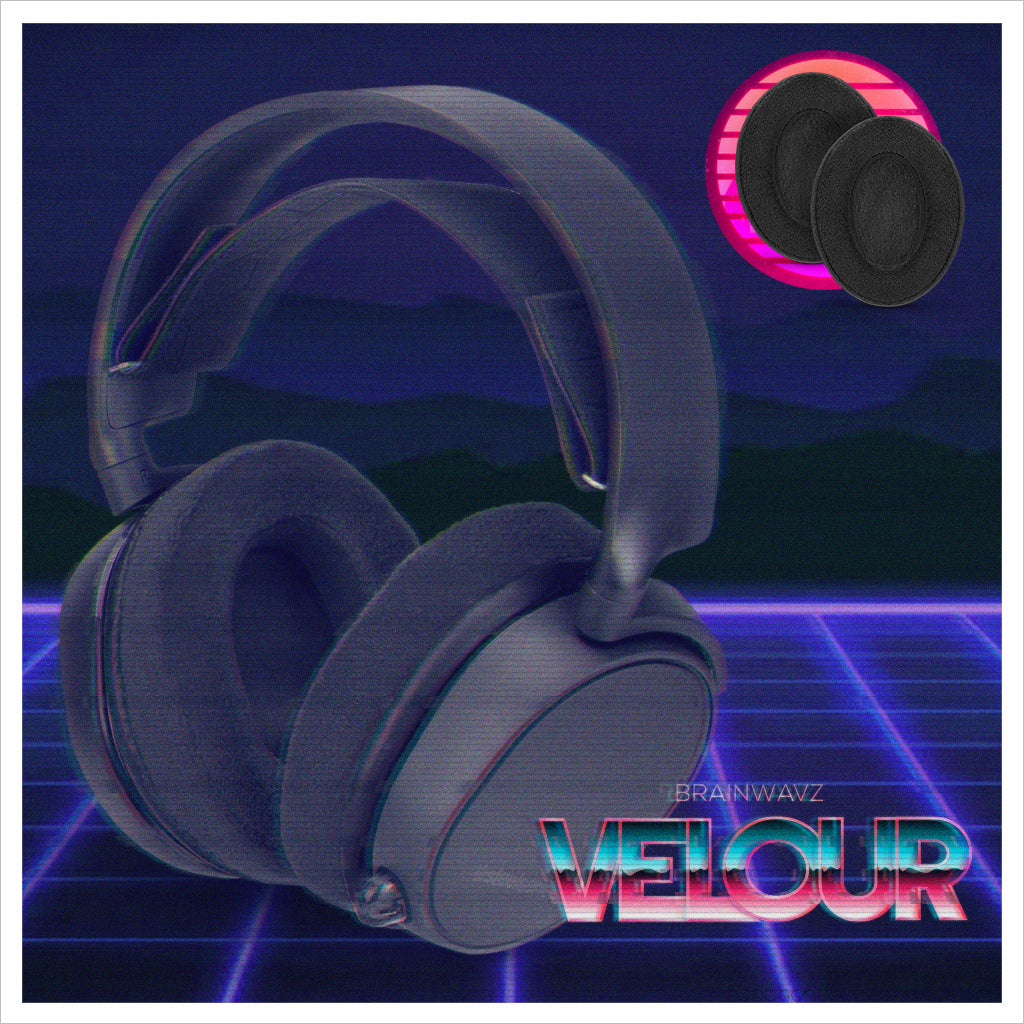 Brainwavz Velour earpads - super soft, smoother bass comfy