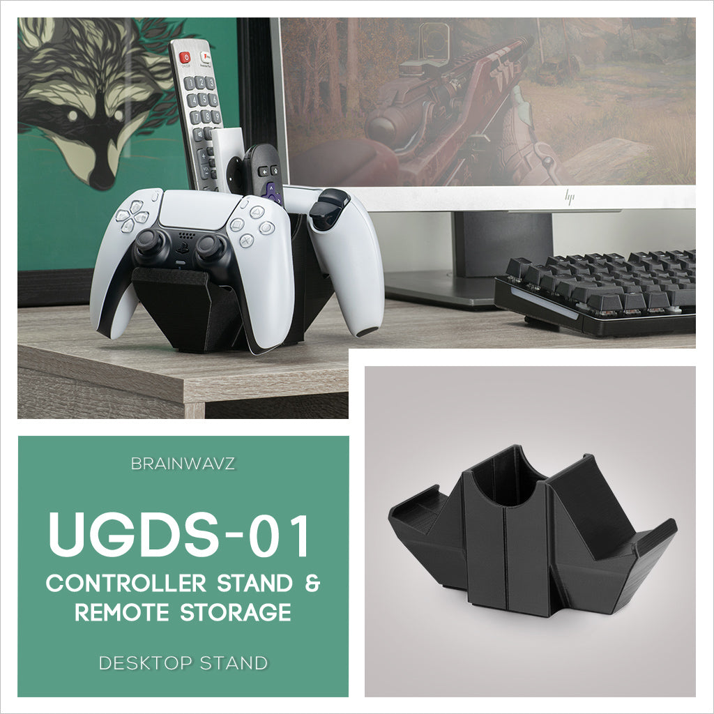 UGDS-01 - Game controller and TV remote control desktop stand