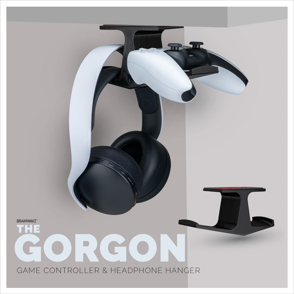 Gorgon by Brainwavz - Under hanger for headphones and game controllers