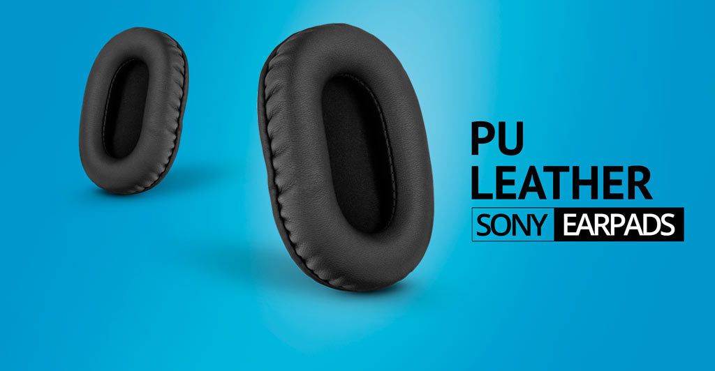 PU Leather earpads for sony headphones by Brainwavz Audio
