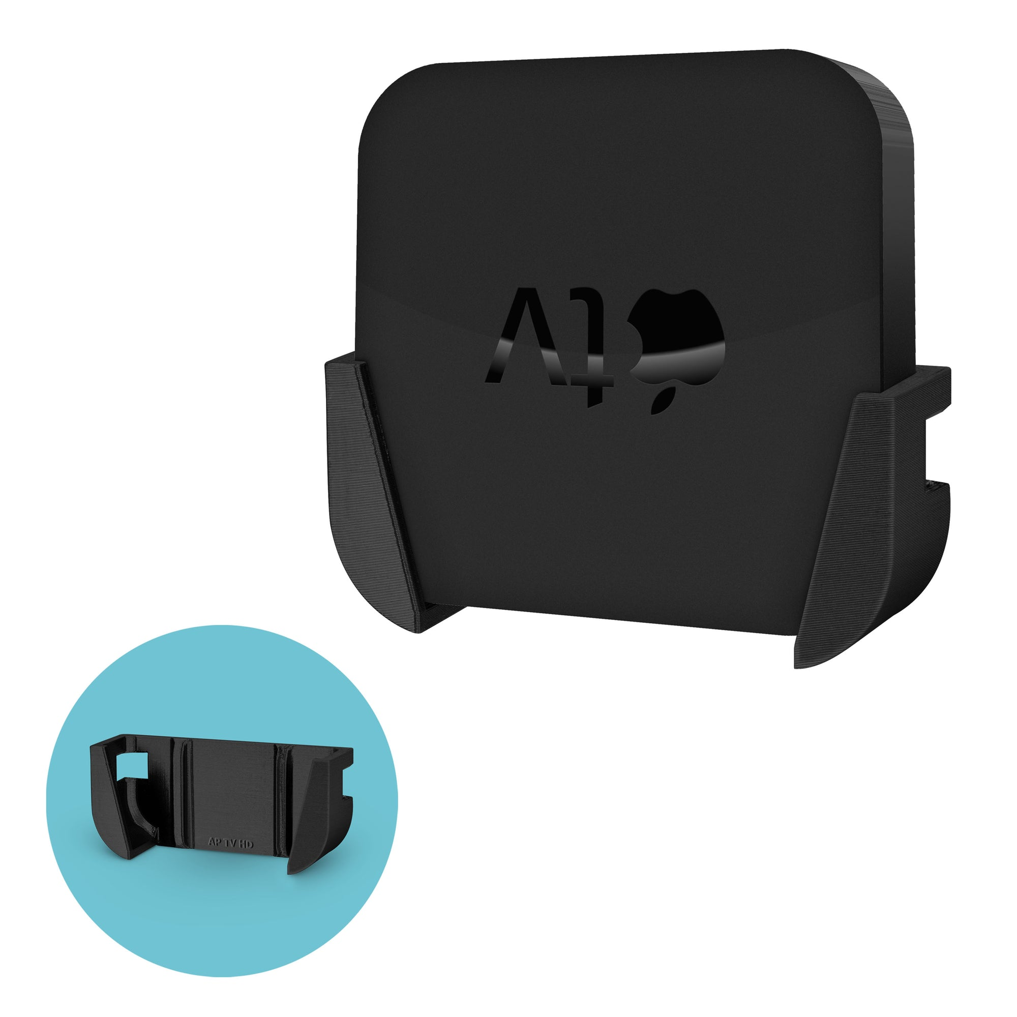 Mounting Bracket for Apple TV 2nd & 3rd Gen (A1427 | A1469 | A1378)