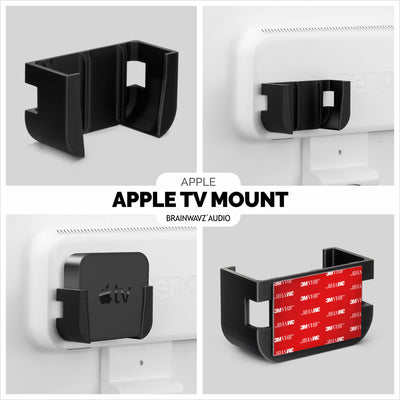 Mounting Bracket for Apple TV with VHB Tape