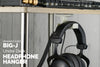 Big-J : Under Desk Headphone Hanger and Cable Organiser - Single Pack