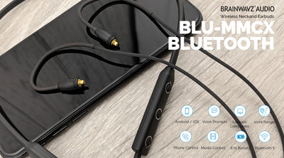 Hex - Triple Balanced Armature Earphones + Bluetooth Adapter