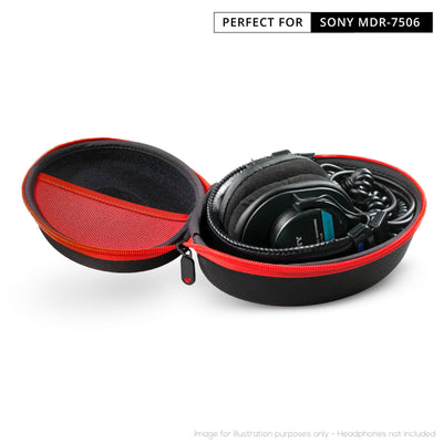 Sony MDR-7506 Compact Headphone case & Earpad Bundles