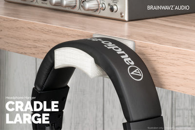 Brainwavz Cradle - Headphone Hangers - Large - Single