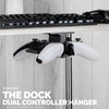 The Dock - Dual Under Desk Game Controller Hanger