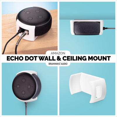 Echo Dot Wall and Ceiling Mount