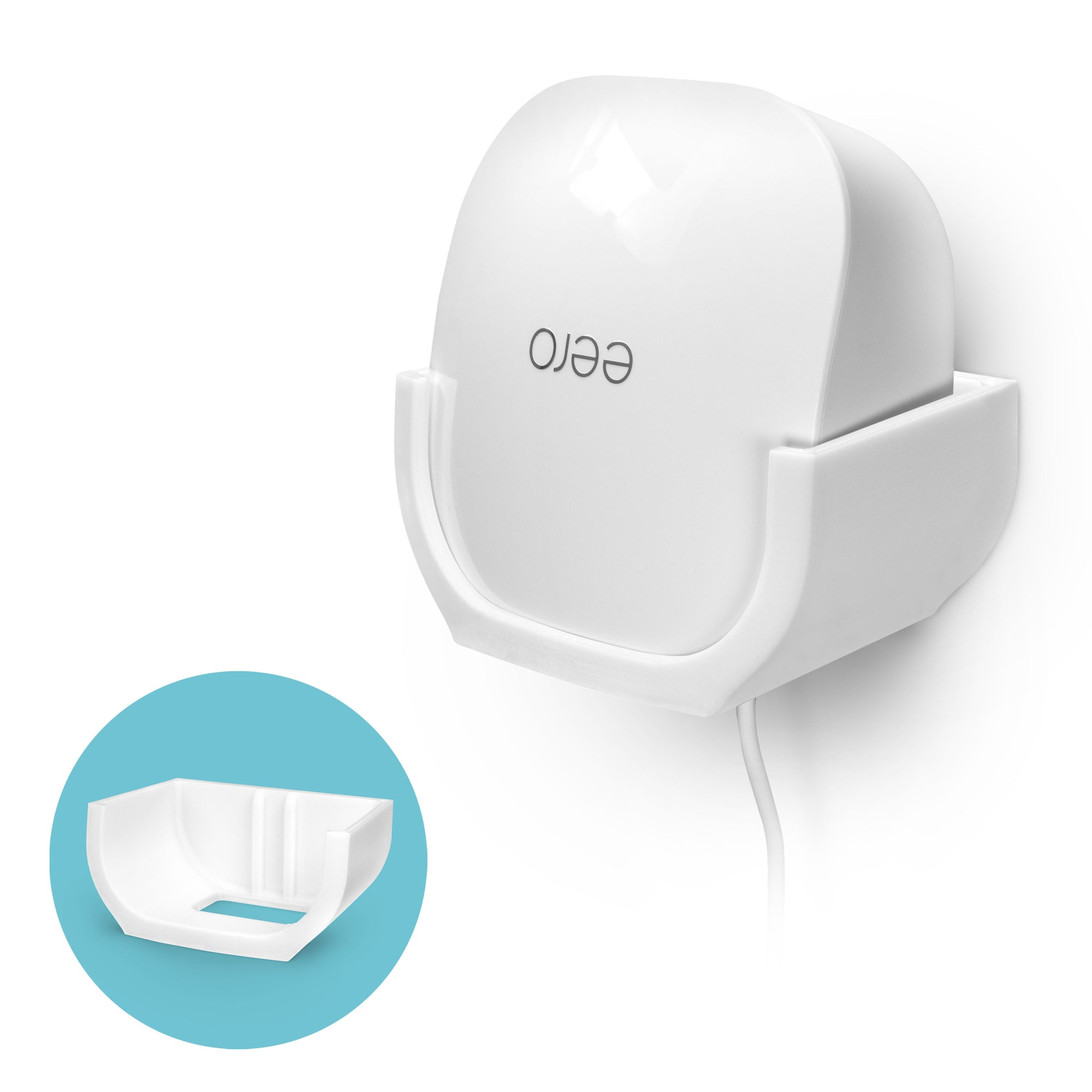 Wall Mount for Eero Mesh WIFI (02)