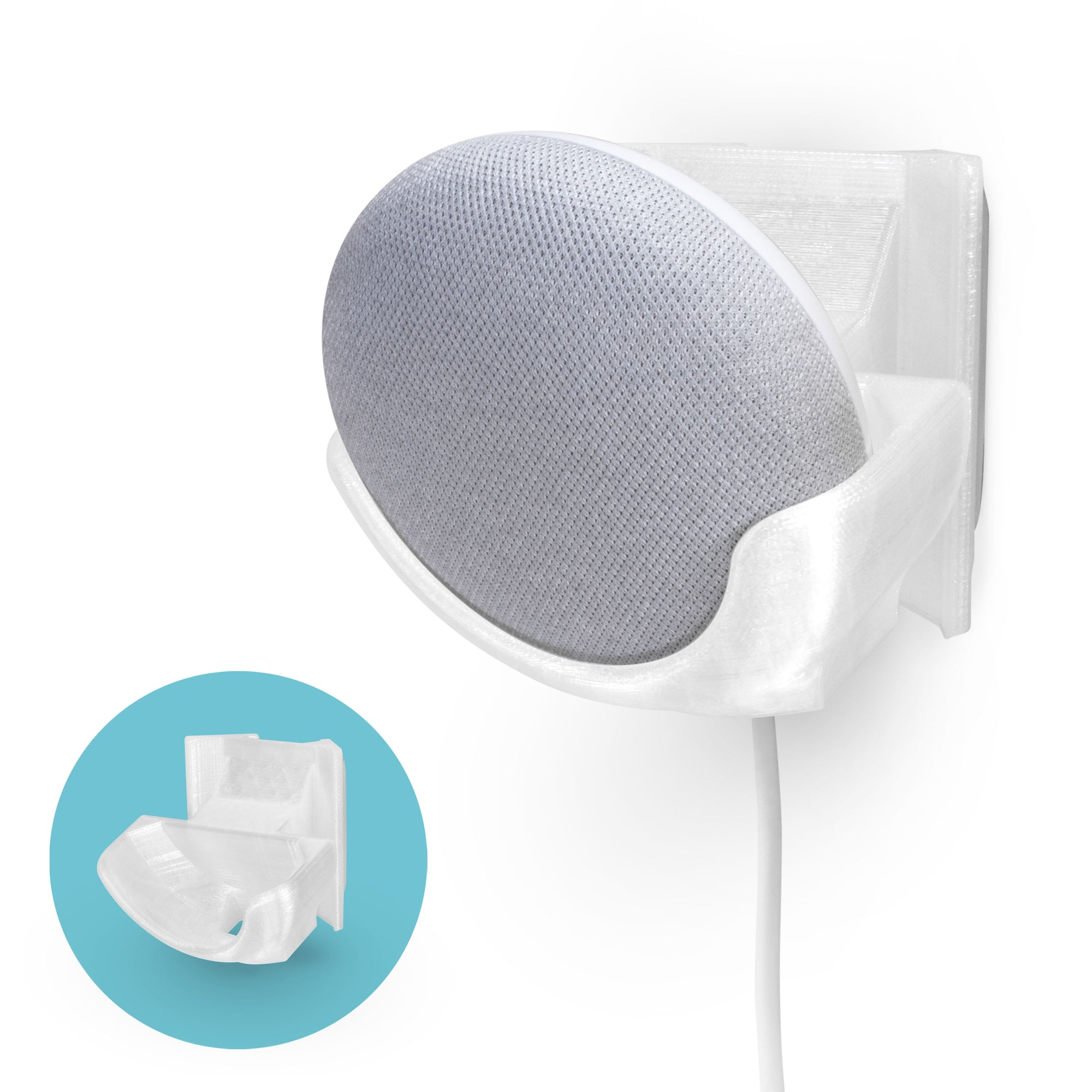 Corner Wall Mount for Google Nest Home Mini