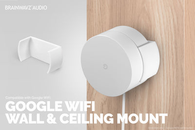 Wall and Ceiling Mount for Google WiFi (01)
