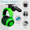 The Gorgon - Under Desk Headphone & Game Controller Hanger Mount