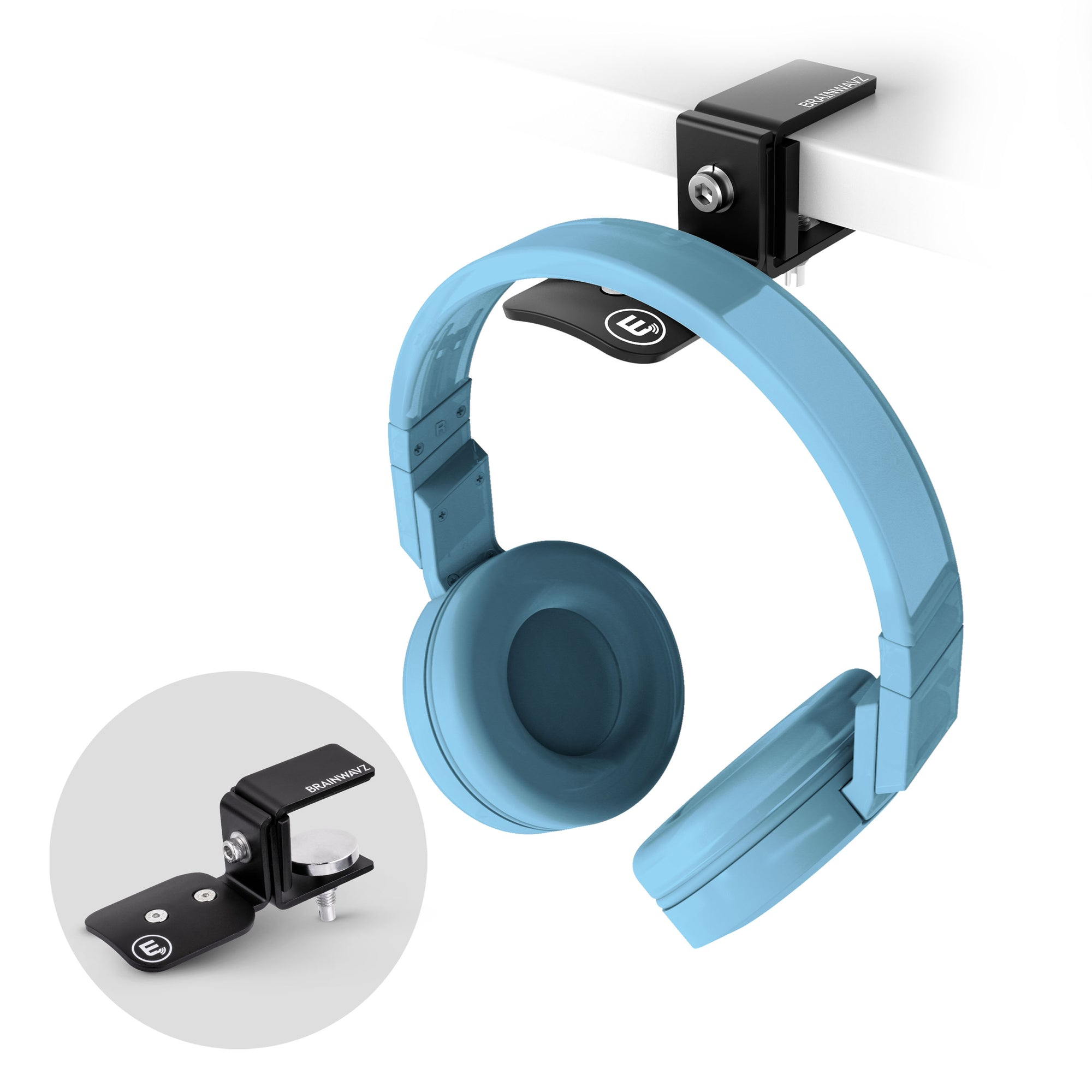 Hengja - All Metal Adjustable Headphone Hanger Stand