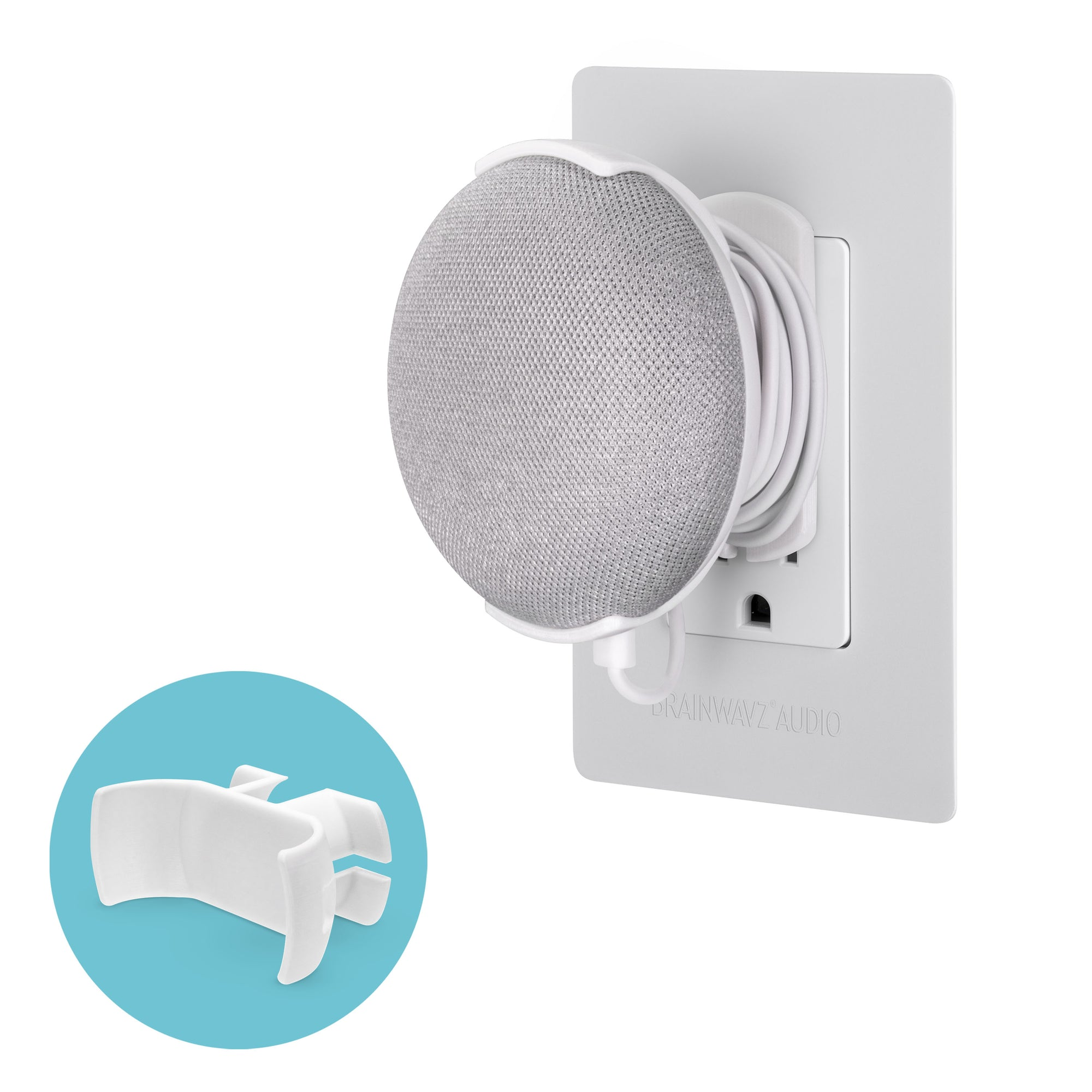 Google Nest Home Mini - Wall Socket Mount
