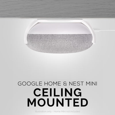Google Home Mini - Wall and Ceiling Mount
