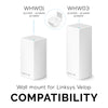 Wall Mount for Linksys Velop Mesh Router