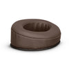 Headphone Memory Foam Earpads - Oval - Angled PU Leather
