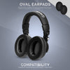 Headphone Memory Foam Earpads - Oval - Hybrid