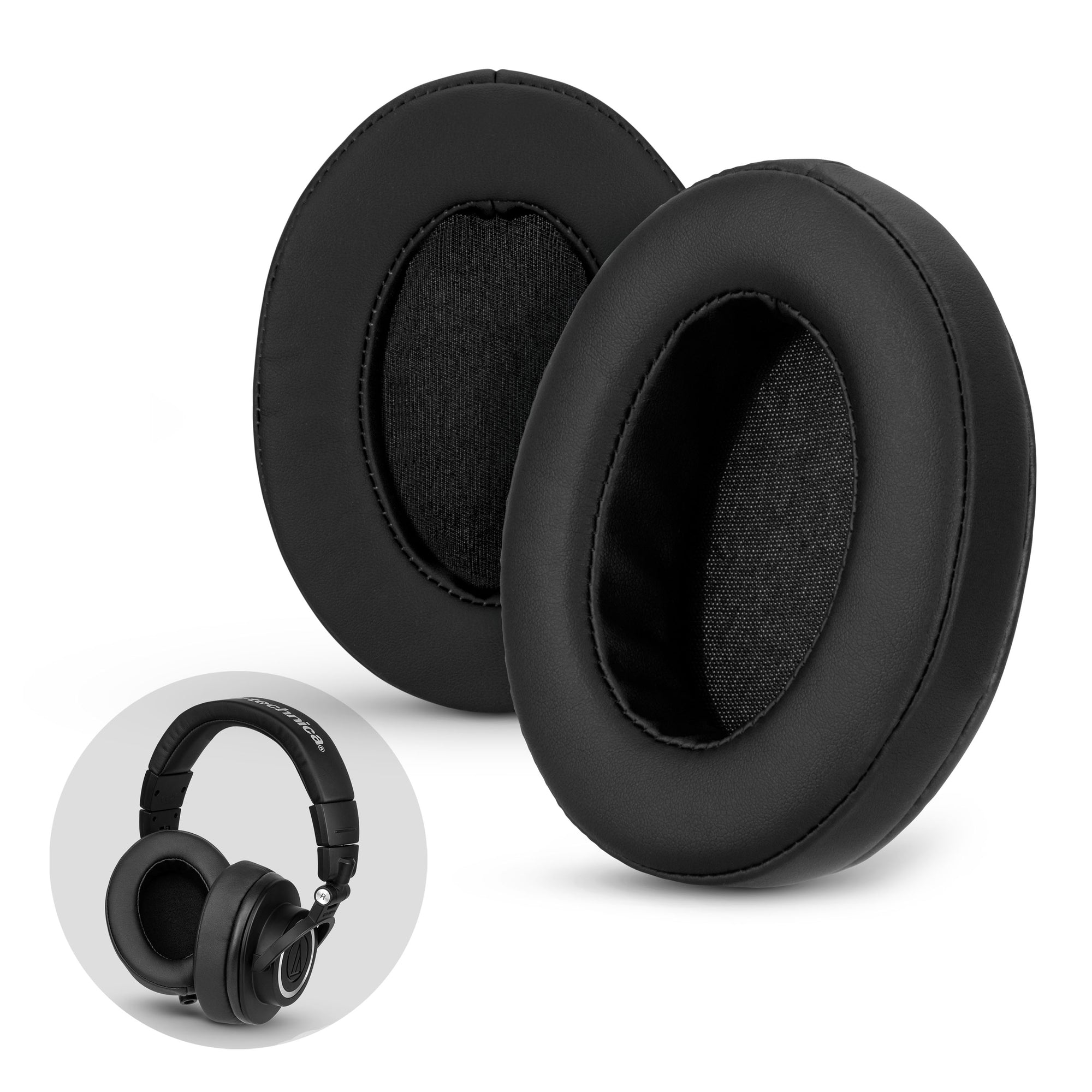 Oval Replacement Earpads - Suitable for many Headphones