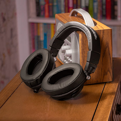 Oval PU Leather Earpads - Suitable for many Headphones (Various Colours)