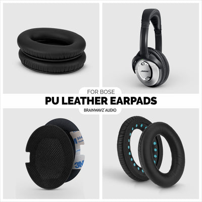 PU Leather Earpads for  BOSE QC15 - QC2