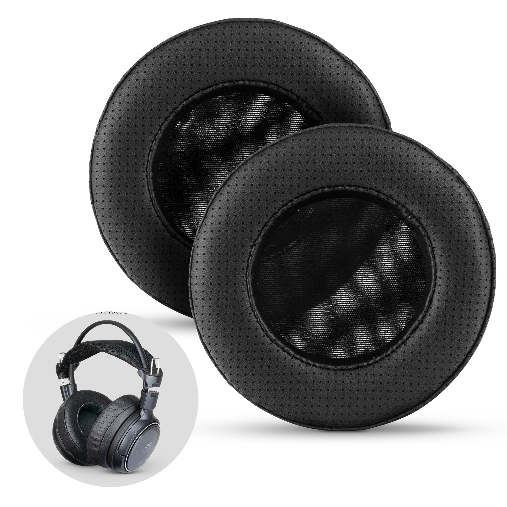 Headphone Memory Foam Earpads - XL - Perforated
