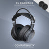 Headphone Memory Foam Earpads - XL - Perforated PU Leather