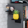 "Screwless Floating Shelf (UM155) for Cameras, Baby Monitors, Plants & More (113mm / 4.4"" x 83mm / 3.2"")"