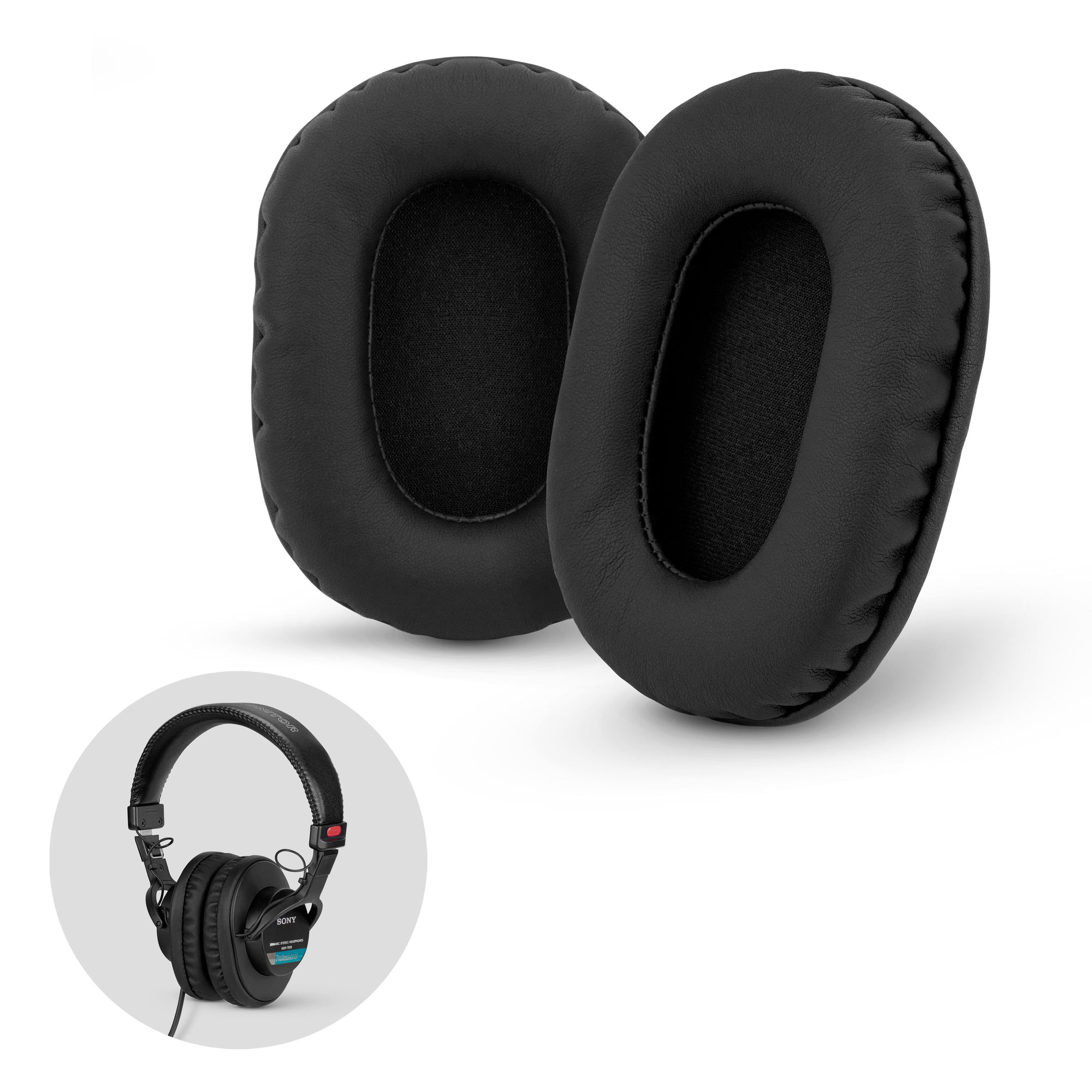 Faux Leather Earpads for SONY MDR-7506 / V6 / CD900ST