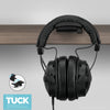 Tuck - Foldable Under Desk Headphone hanger