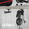 Ultra-J: Under Desk Headphone hanger with cable hook