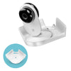 Screwless Tilted Corner Shelf for Security Cameras & Baby Monitors