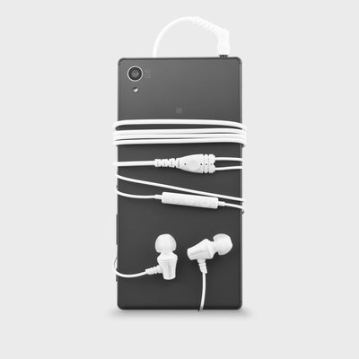 Jive IEM Earphones with Mic / 3 Button Remote