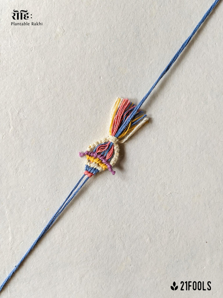 'Rohi' - Plantable Rakhi embedded with seeds / 'Water'