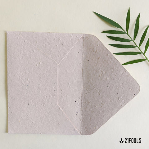 Plantable Seed Paper Envelope - Pack of 10