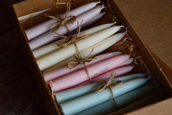 Box of Pastels | Hand Dipped Candles