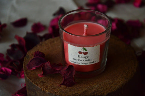 Rouge | Shot Glass Candle