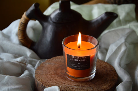 Treasures of the Orient | Shot Glass Candle