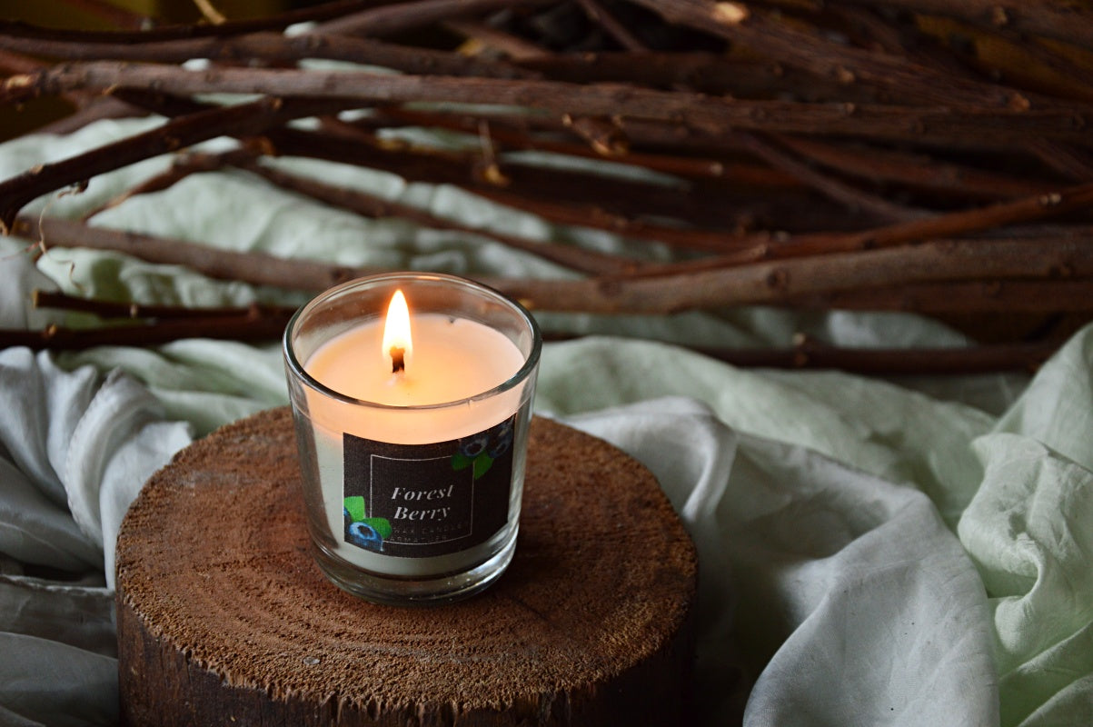 Forest Berry | Shot Glass Candle