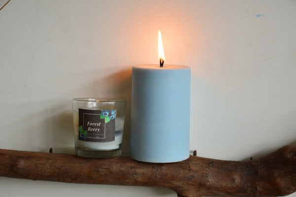 Forest Berry Soy Pillar Candle