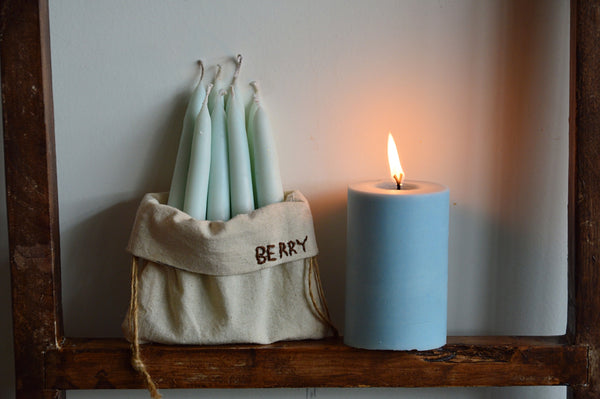 Berry Hand Dipped Candles