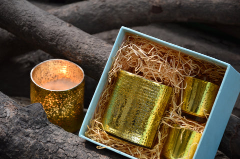 Gold Luminary Gift Box