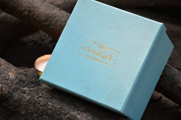 Gold Votives Gift Box