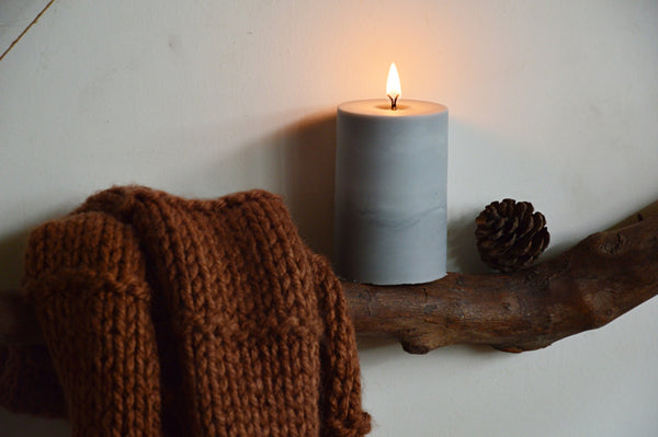 Into The Night Soy Pillar Candle